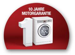 10 Jahre Motorgarantie